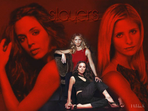 Slayers Faith & Buffy