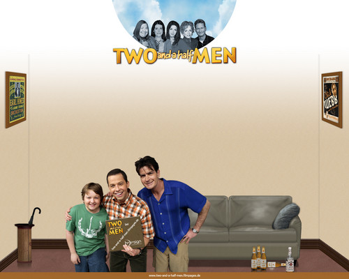 Two and a half Men wolpeyper