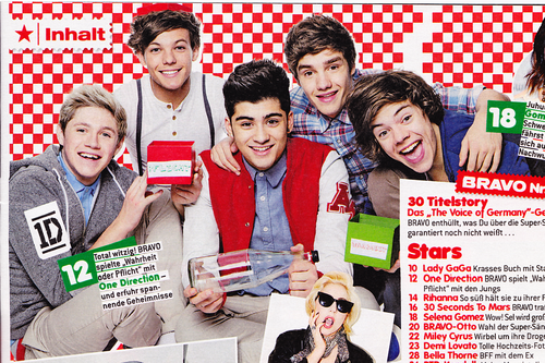 "1D in ""Bravo"" magazine (Germany) ♥"