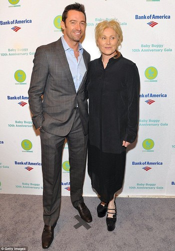 Baby Buggy 10th Anniversary Gala hugh jackman & Deborra-Lee Furnes