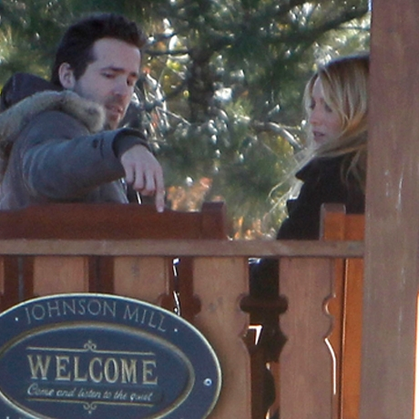 Blake Lively & Ryan Reynolds in Utah