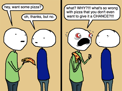 pizza Rejection