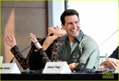 Tom Cruise: 'Ghost Protocol' Press Conference in Dubai!