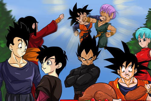 Dragon Ball Z Gathering