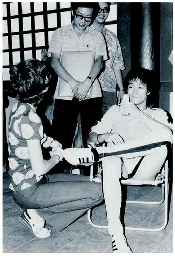 Bruce+Linda,Game of Death,behind the scenes