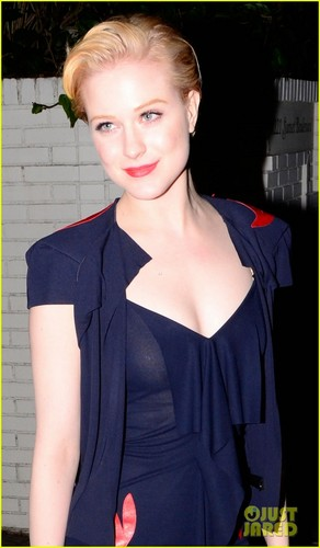 Evan Rachel Wood: chateau Marmont Celebration!
