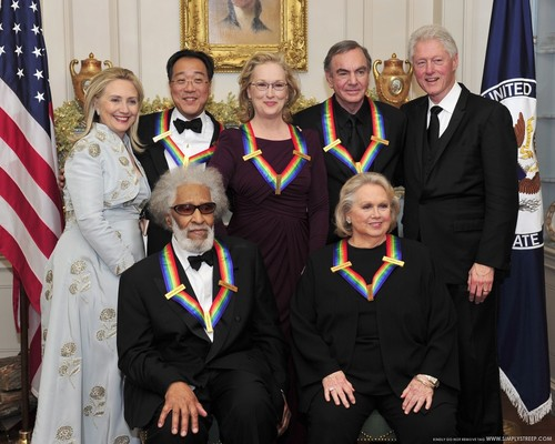 Kennedy Center Honors - Gala Dinner [December 3, 2011]