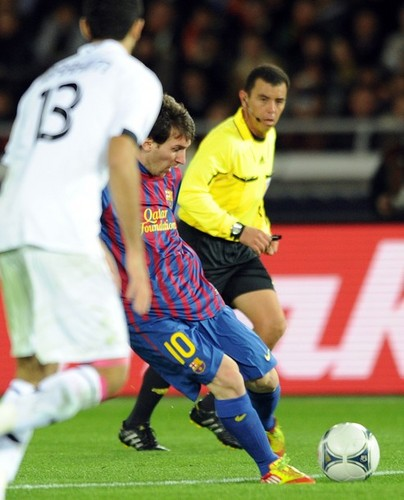 Lionel Messi - FC Barcelona (4) v Al-Sadd Sports Club (0) - FIFA Club World Cup [Semi Final]