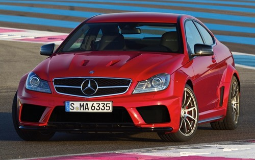 MERCEDES - BENZ C63 AMG coupe, kup