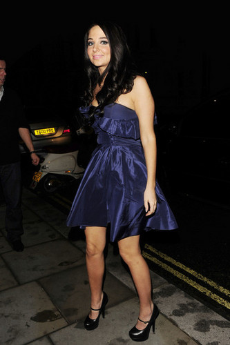 Tulisa at the 'X Factor' Party