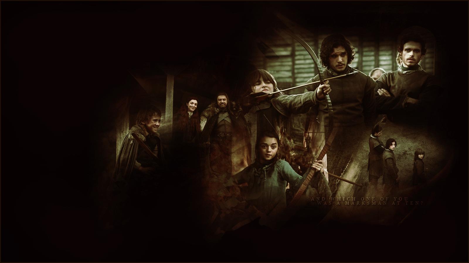 House Stark Game Of Thrones Wallpaper 27629023 Fanpop