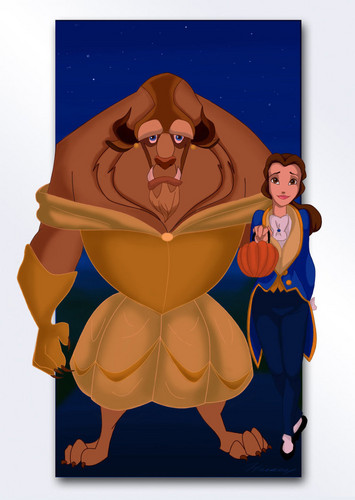 Beauty and the beast halloween