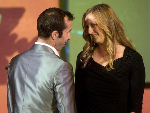 Radek Stepanek and Petra Kvitova sexy