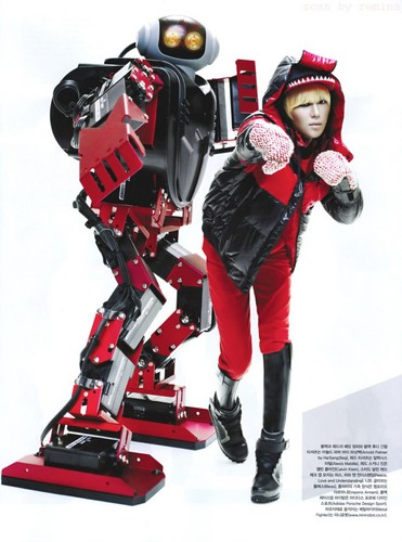 Taemin & Minho in Vogue Korea Magazine December 2011 issue