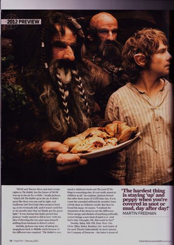 The Hobbit: An Unexpected Journey | TotalFilm Vorschau