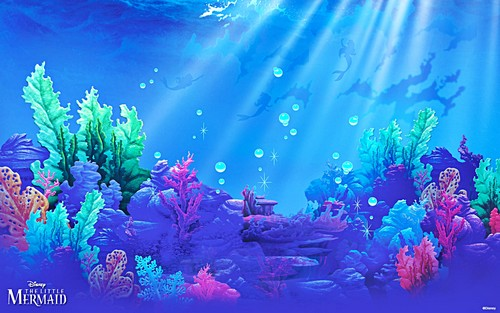 Walt disney fondo de pantalla - The Little Mermaid