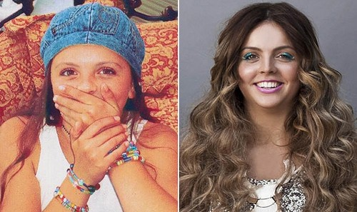 Before Jesy hit the big time!