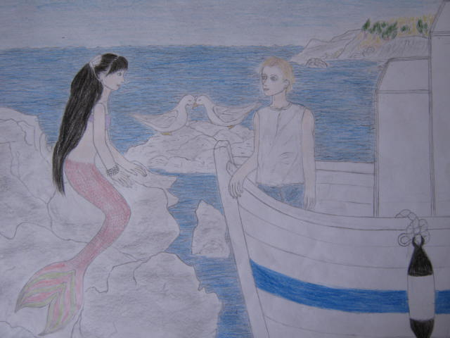 Boy and Mermaid