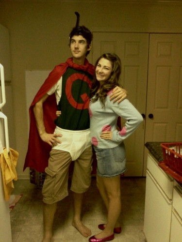 Doug Fans Dressed Up as Doug and Patty