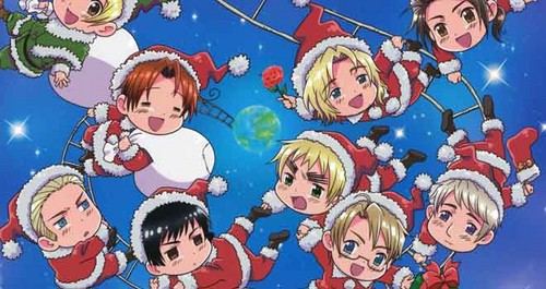 Have a hetalia - axis powers Christmas!!!