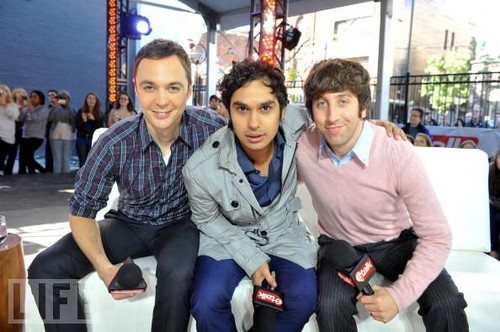 Jim, Simon and Kunal