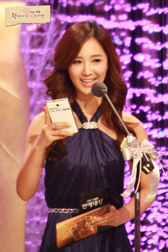 Yuri @ KBS Entertainment Awards