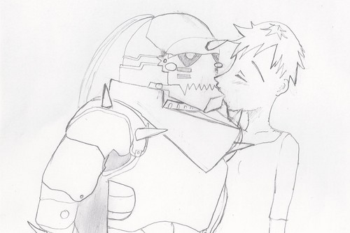 Alphonse and Tatsuki (FMA & Bleach)