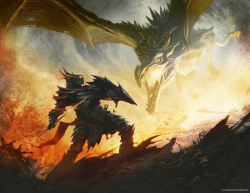 Concept art of Alduin