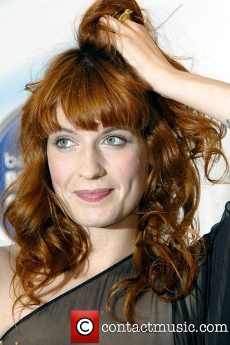 "Florence Receiving ""Barclaycard Mercury Prize"" - London"
