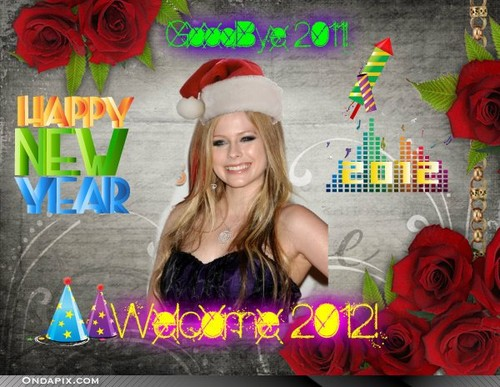 Happy New Year! Avril Lavigne
