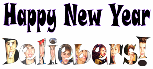 Happy New taon Beliebers !