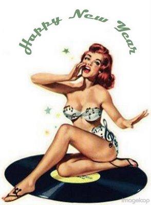 Pin Up New Year