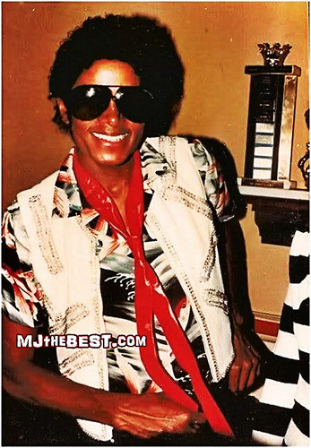 Michael rockin' shades and a red tie! :)