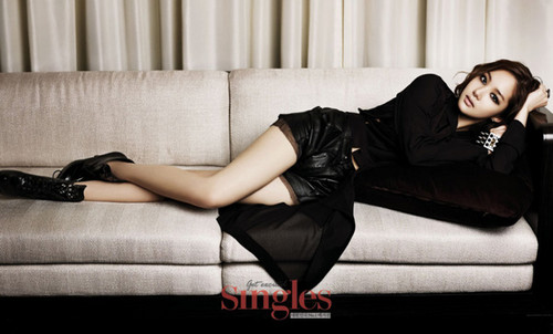 Park Minyoung for Singles