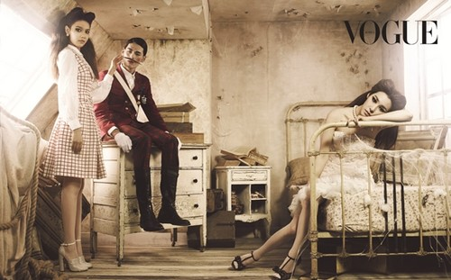 Sooyoung & Tiffany for Vogue Korea