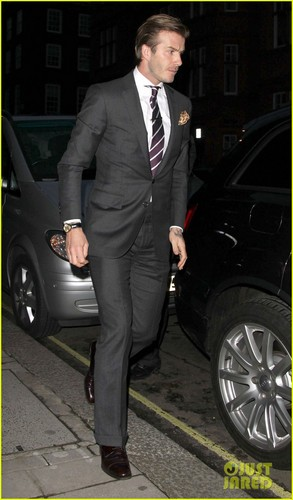 The Beckhams: Ciao, Claridges!