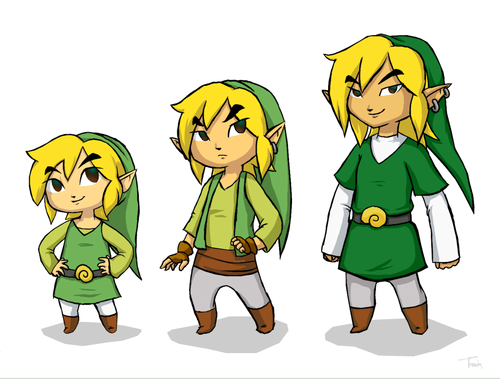 Toon link age-chart