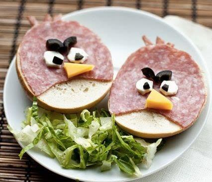 Angry Birds Food