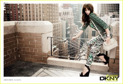 Ashley Greene: DKNY Spring 2012 Ad Campaign!