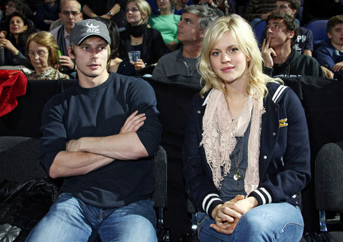 Bradley James and Girlfriend; Georgia King. Nov 2011.