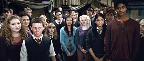 Cho Chang and Dumbledore's Army