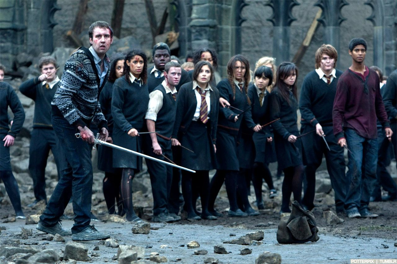 Cho Chang in Battle of Hogwarts