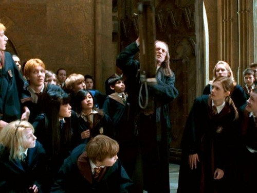 Cho Chang and Hogwart Students