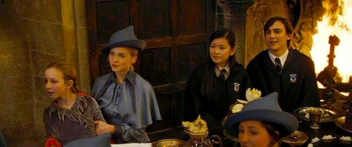 Cho Chang with Fleur, Gabrielle and Roger Davies