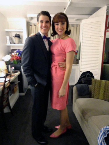 Darren Criss and Stephanie Rothenberg