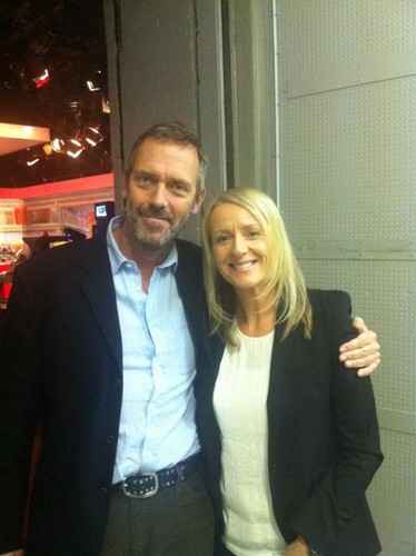 Hugh Laurie and Sonja McLaughlan