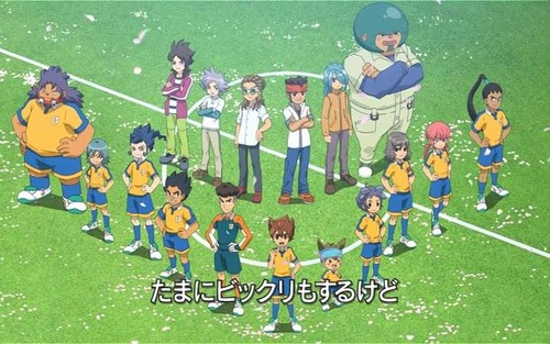 Inazuma eleven GO the movie