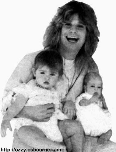Ozzy With His bambini