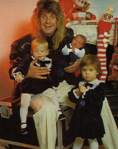 Ozzy With His Babies