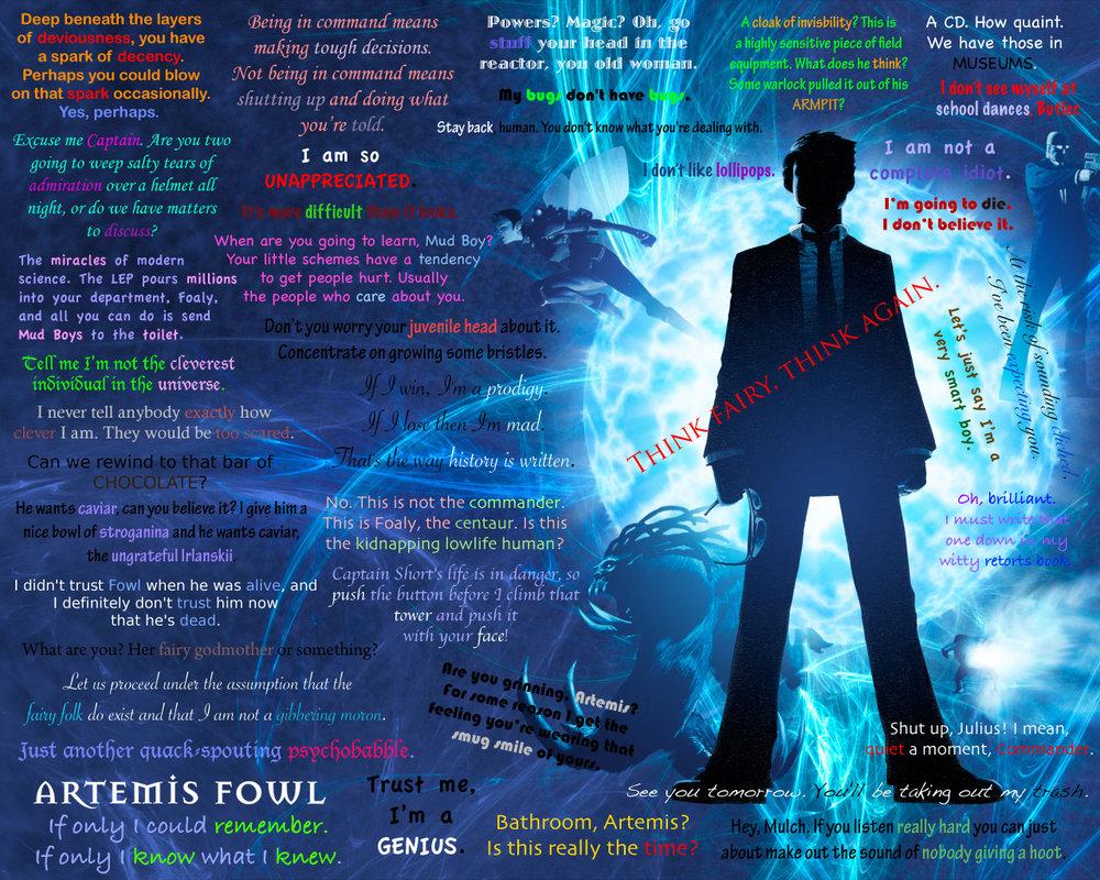 名言 格言 壁紙 Artemis Fowl 壁紙 28029905 ファンポップ